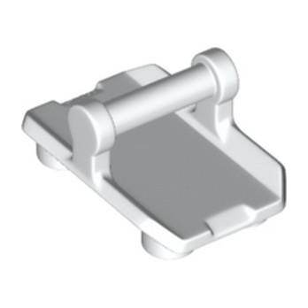 LEGO 6188400  BOUCLIER 2X3 W/ HOR. 3,2 SHAFT - BLANC