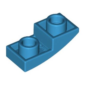 LEGO 6231942 DOME INV. 1X2X2/3 - DARK AZUR