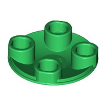 LEGO 6144145 ROND LISSE 2X2 INV  - DARK GREEN