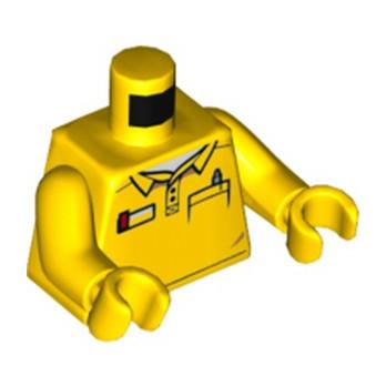 LEGO 6120210 TORSE - JAUNE  lego-6120210-torse-jaune- ici :