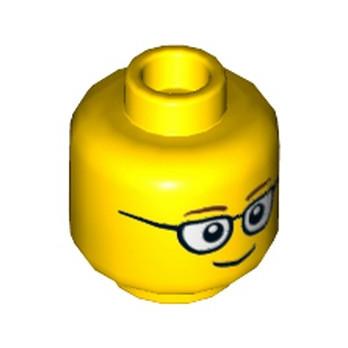 LEGO 6112629 TÊTE HOMME / LUNETTE