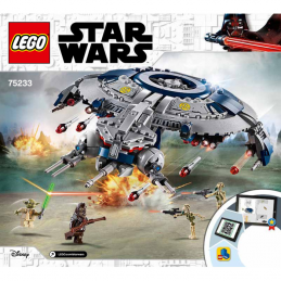 Notice / Instruction Lego Star Wars  75233