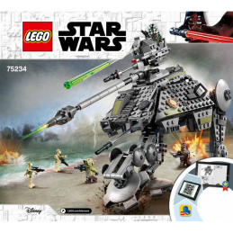 Notice / Instruction Lego Star Wars  75234