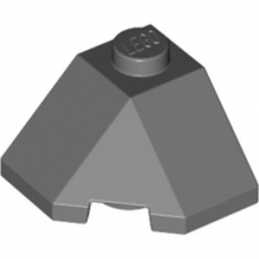 LEGO 6227909 ROOF TILE 2X2X1 45° - DARK STONE GREY