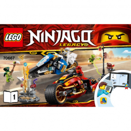 Notice / Instruction Lego Ninjago 70667