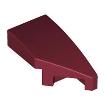 LEGO 6219657 ARQUE 1X2 DROITE 45 DEG - NEW DARK RED lego-6219657-arque-1x2-droite-45-deg-new-dark-red ici :