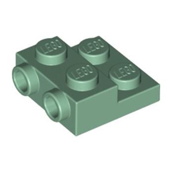 LEGO 6223171 PLATE 2X2X23 W. 2. HOR. KNOB - SAND GREEN lego-6223171-plate-2x2x23-w-2-hor-knob-sand-green ici :