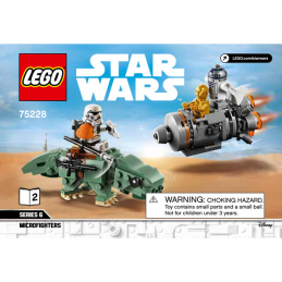 Notice / Instruction Lego Star Wars  75228