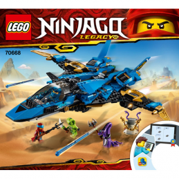 Notice / Instruction Lego Ninjago 70668