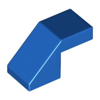 LEGO 6228601 TUILE 1X2 45° - BLEU