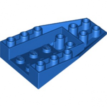 LEGO 6249788 ROOF TILE 4X6/18° INV. - BLEU