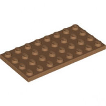 LEGO 6218145 PLATE 4X8 - MEDIUM NOUGAT lego-6218145-plate-4x8-medium-nougat ici :