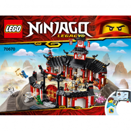 Notice / Instruction Lego Ninjago 70670