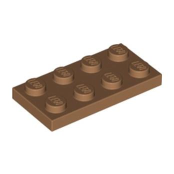 LEGO 6093494 PLATE 2X4 - MEDIUM NOUGAT