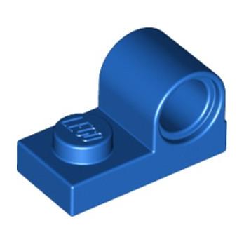 LEGO 6248822 PLATE 1X2 W. HOR. HOLE Ø 4.8 - BLEU lego-6248822-plate-1x2-w-hor-hole-o-48-bleu ici :
