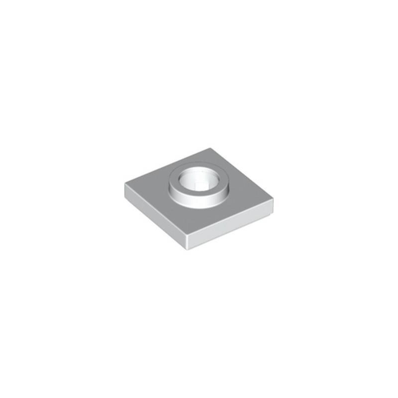 LEGO 6238334 TURNTABLE 2X2 FEMELLE - BLANC