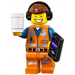 Mini Figurine Lego® Série The Lego Movie 2 - Emmet Remix génial