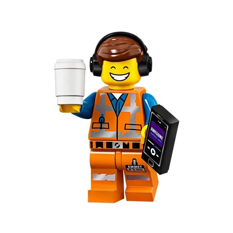 Mini Figurine Lego® Série The Lego Movie 2 - Emmet Remix génial