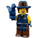 Mini Figurine Lego® Série The Lego Movie 2 - l'homme au gilet et T-Rex