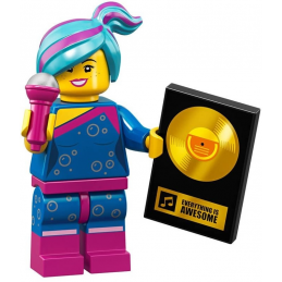 Mini Figurine Lego® Série The Lego Movie 2 - Lucy Flashback