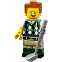 Mini Figurine Lego® Série The Lego Movie 2 - le Président Business au golf