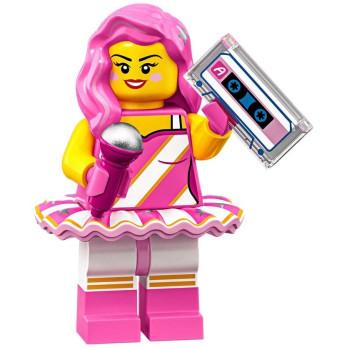 Mini Figurine Lego® Série The Lego Movie 2 - Candy Rapper