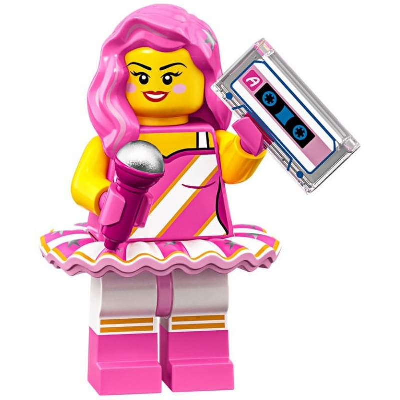 Mini Figurine Lego® Série The Lego Movie 2 - Candy Rapper