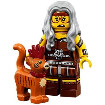 Mini Figurine Lego® Série The Lego Movie 2 -  Sherry Griffoir-Poste et Scarfield