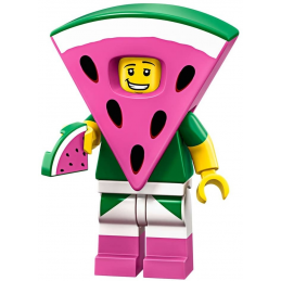 Mini Figurine Lego® Série The Lego Movie 2 -  le type pastèque
