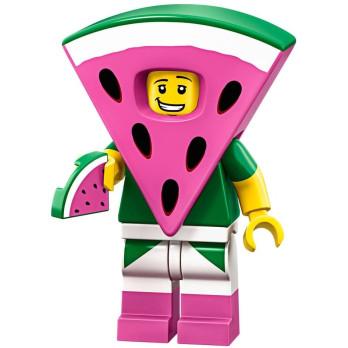 Mini Figurine Lego® Série The Lego Movie 2 -  le type pastèque