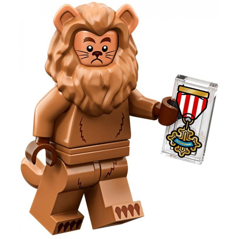 Mini Figurine Lego® Série The Lego Movie 2 -  le Lion peureux