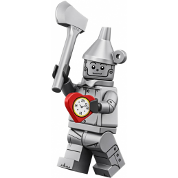 Mini Figurine Lego® Série The Lego Movie 2 -  le bûcheron en fer blanc
