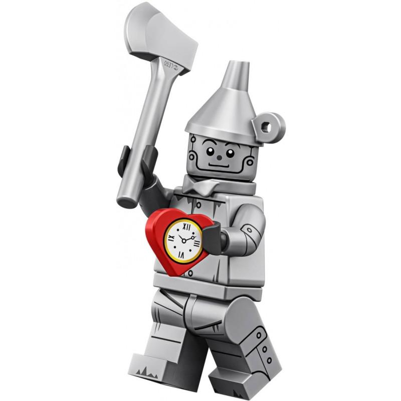 Mini Figurine Lego® Série The Lego Movie 2 -  le bûcheron en fer blanc