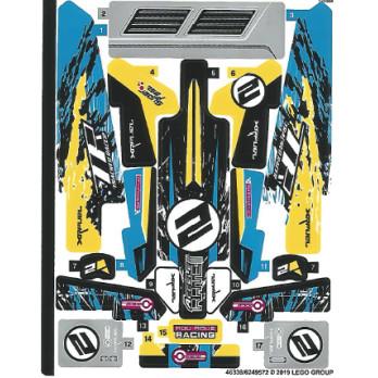 Stickers / Autocollant Lego Technic 42095
