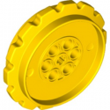 LEGO 6253463 SPROCKET Ø55,8, W/ CROSS HOLE  - JAUNE