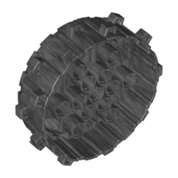 LEGO 6250304 ROUE Ø62  - TITANIUM METALIC