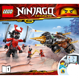Notice / Instruction Lego Ninjago 70669