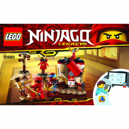 Notice / Instruction Lego Ninjago 70680