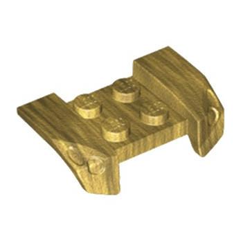 LEGO 6249698 CAPOT  2,5 X 4 - WARM GOLD