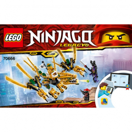 Notice / Instruction Lego Ninjago 70666