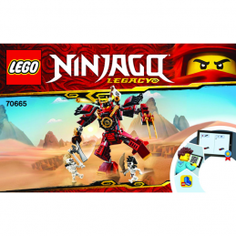 Notice / Instruction Lego Ninjago 70665