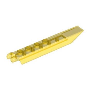 LEGO 6117724 HELICE / PALE 2X8 - JAUNE TRANSPARENT