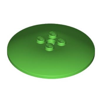 LEGO 6117758 PARABOLE 6X6 - BRIGHT GREEN lego-6117758-parabole-6x6-bright-green ici :