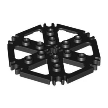 LEGO 4539442 PLATE HEXAGONAL W STAND. Ø 48 - NOIR lego-4539442-plate-hexagonal-w-stand-o-48-noir ici :