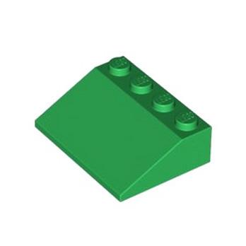 LEGO 4296132 TUILE 3X4/25° - DARK GREEN