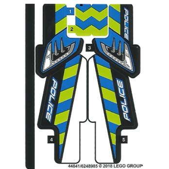 Stickers / Autocollant Lego Technic 42091