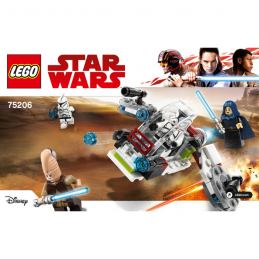 Notice / Instruction Lego Star Wars  75206