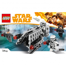 Notice / Instruction Lego Star Wars  75207