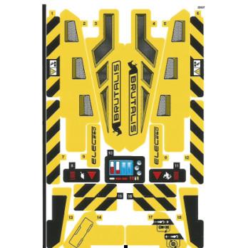 Stickers / Autocollant Lego Technic 42094