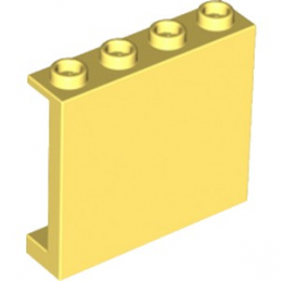 LEGO 6093481 MUR / CLOISON 1X4X3, ABS - COOL YELLOW